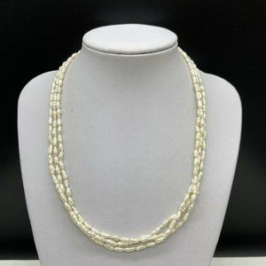 Vintage 14k Gold Filled Freshwater Pearl Necklace